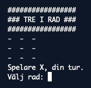 Tre i rad i Python [Del 2/2]